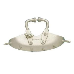 Mulcová zábrana, medium, hliník