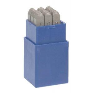 Sada ocelových číslic 5 mm, pro  SUPERCROTAL®/COMPRESSAN®