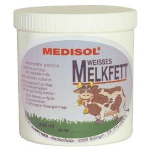Mléčný tuk na vemena 1 litr, bílá